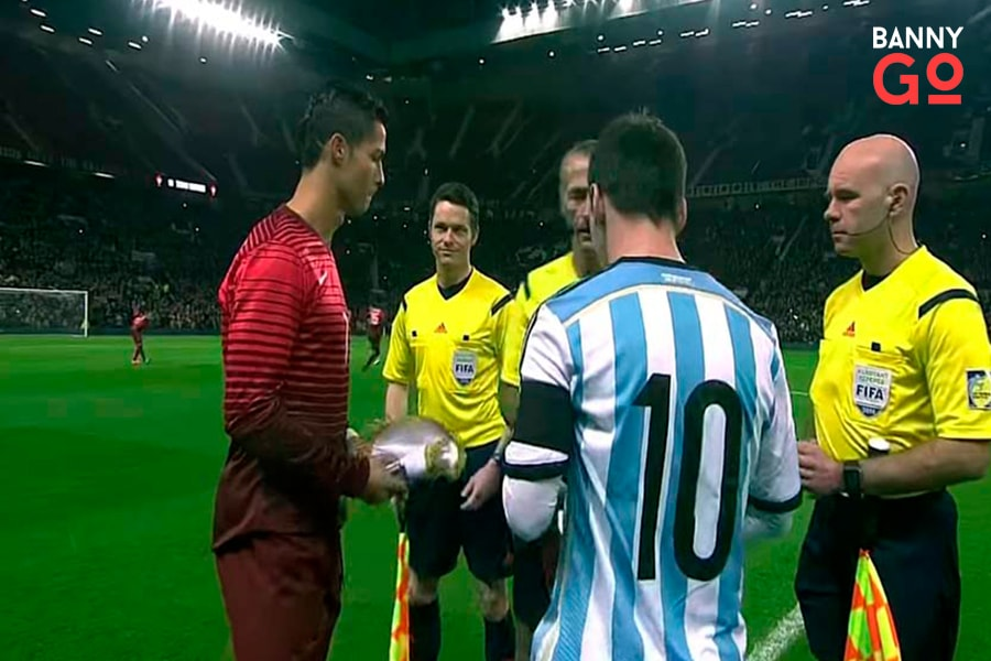 Ronaldo ve Messi