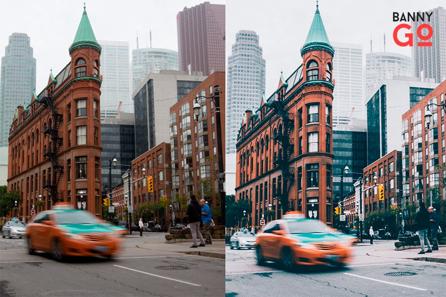 Kamera Sarsıntı , Blur efekti