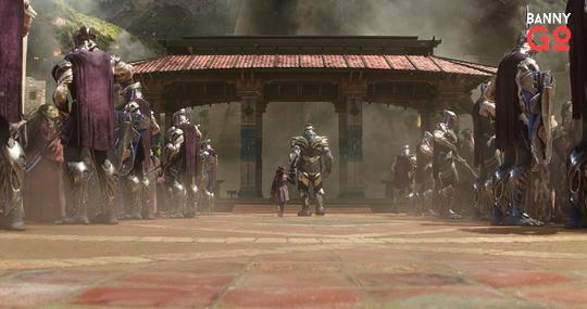 Gamora ve Thanos