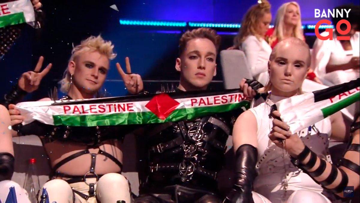 Eurovision Şarkı Yarışması, Filistin