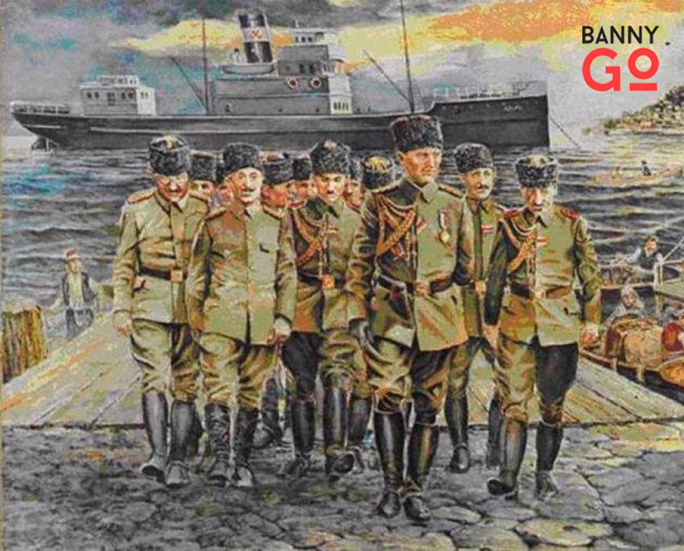Atatürk Samsuna Çıktı