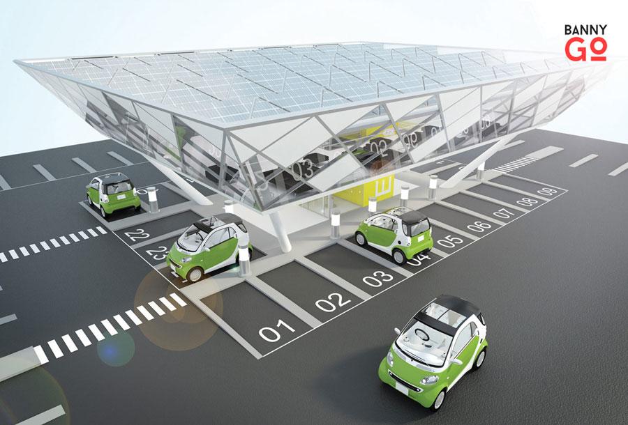 Elektrikli Araba İstasyonu