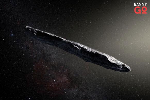 Oumuamua Kuyruklu yıldız, Asteroit yada bir uzay gemisi mi?