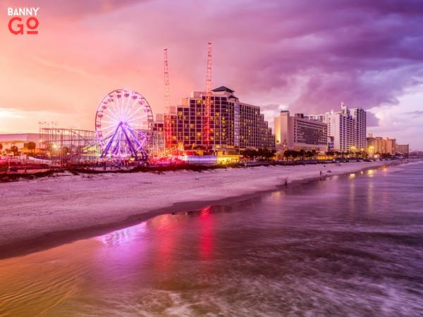Daytona Beach'te yer alan Florida 68.866 nüfusa sahiptir.