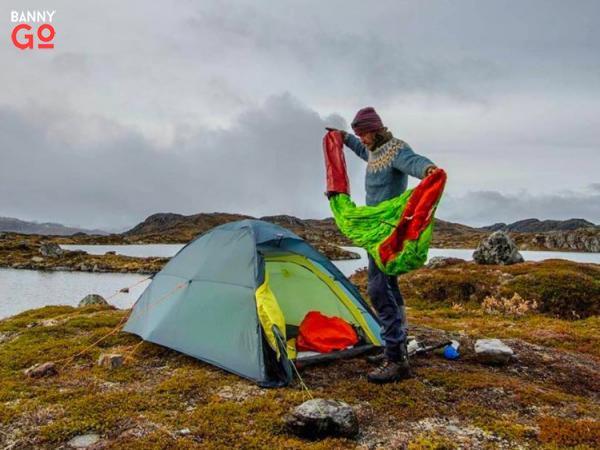 Bir kamp çadırı hediye edin