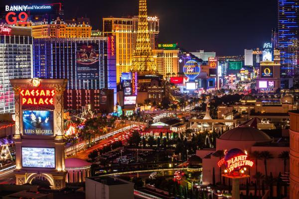 Las Vegas Strip Caddesi