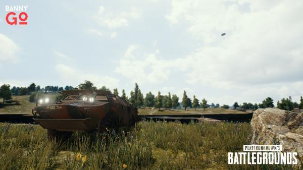 PUBG Yeni Güncelleme Zırhlı araç