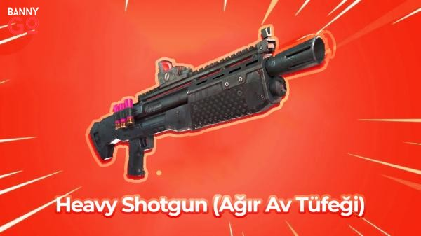 Fortnite - Heavy Shotgun (Ağır Av Tüfeği)