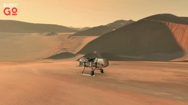 NASA 2026 Saturn Dragonfly rotor-lander Projesi