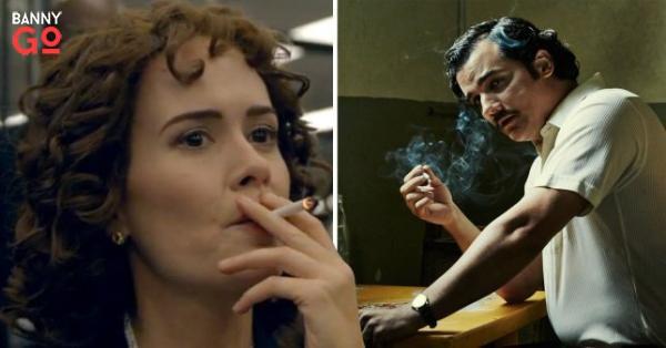 Netflix Dizilerinde Sigara sahnelerinin artışı
