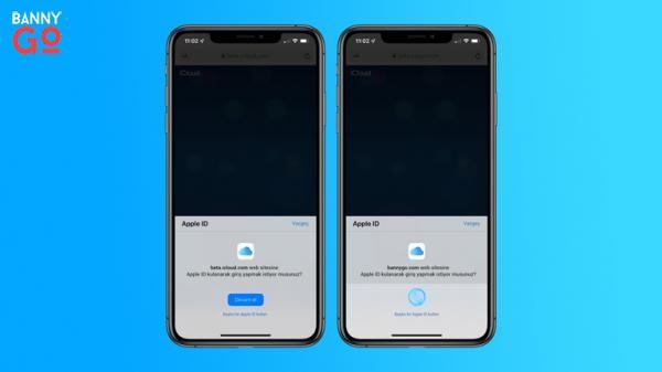 Apple ID ile Giriş
