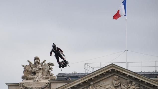 Fransalı Mucit Franky Zapata Jetpack