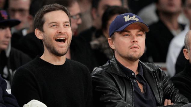 Tobey Maguire ile Leonardo DiCaprio