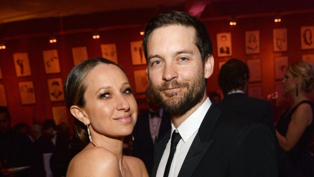Tobey Maguire ve Jennifer Meyer