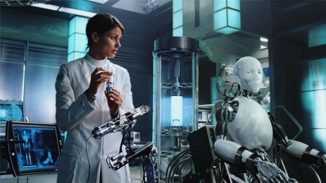 Ben robot filmi ve robotların yapay zeka yüklemesi