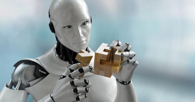 İmalat sektörü robot