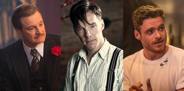 Colin Firth, Benedict Cumberbatch ve Richard Madden
