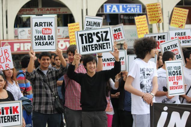 2011 - İnternetime dokunma eylemi