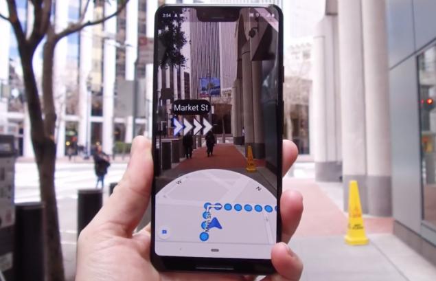 Google Haritalar (Live View)