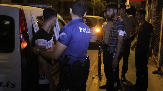 Polis - Suriyeli
