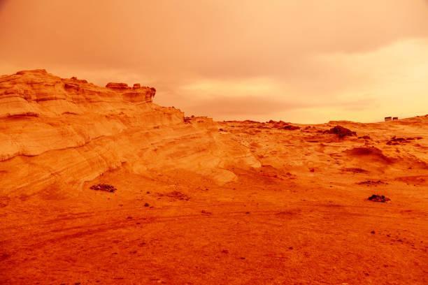 mars kum fırtınası