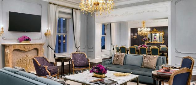 #9 - Royal Suite, Plaza Hotel