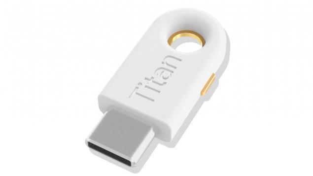 Google, USB-C Titan USB