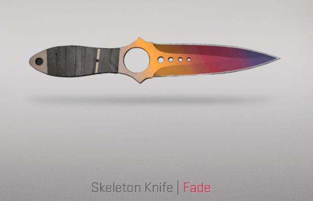 Skelaton Knife - Fade