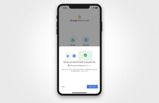 iPhone'lar artık Google hesabı iki faktörlü kimlik doğrulaması için kullanılabilir