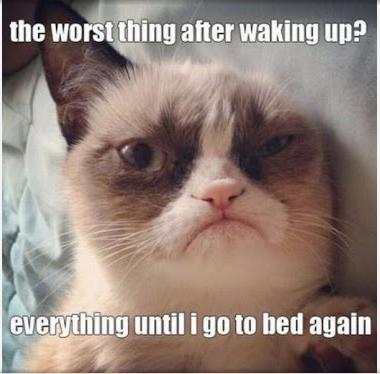 Sabah insanı değilim