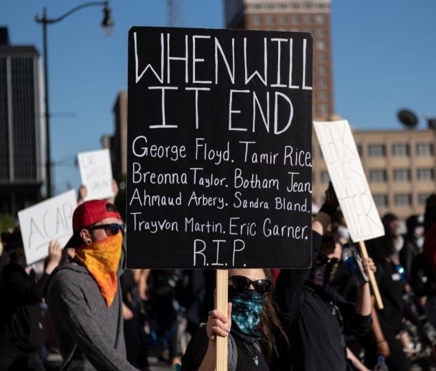 Black Lives Matter Protestosu
