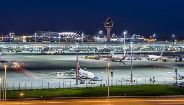 1. Münih Uluslararası Havaalanı, Almanya (MUC)