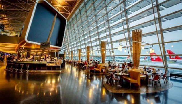 2. Zürih Kloten Uluslararası Havaalanı, İsviçre (ZRH)
