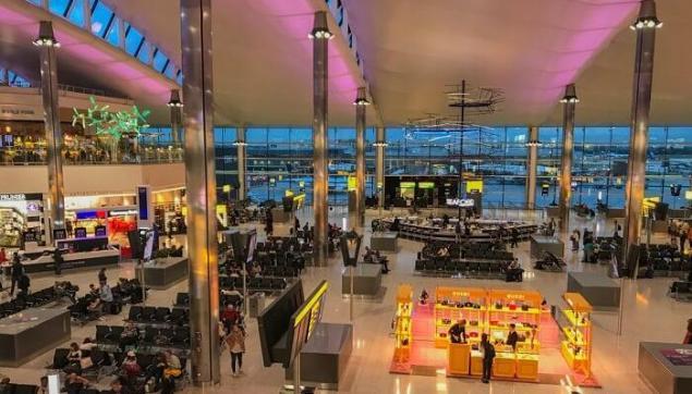 3. Londra Heathrow Havaalanı, İngiltere (LHR)