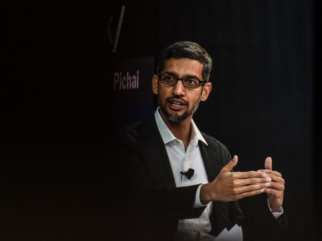 Google CEO'su Sundar Pichai