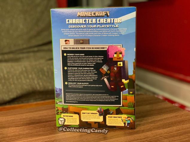 Minecraft Creeper Crunch Mısır Gevreği