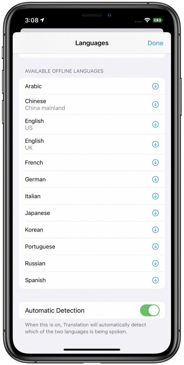 İOS 14 Apple Çeviri Uygulaması
