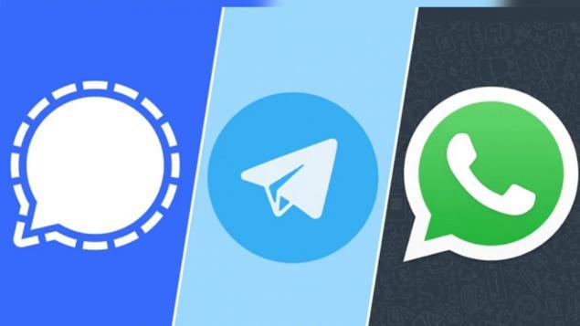 Signal ve Telegram