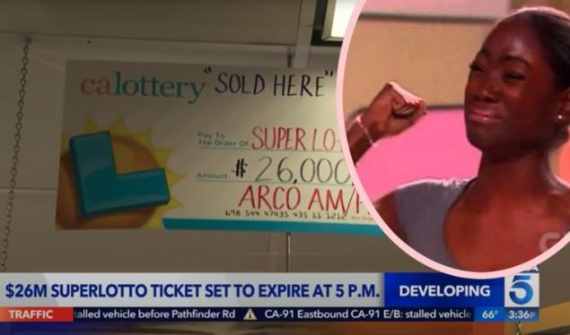 ABD'de yaşayan ve aldığı bilete 26 milyonluk büyük ikramiye vuran kadın bileti yanlışlıkla yıkadığını iddaa etti.