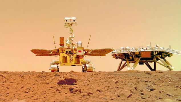Çin Ulusal Uzay Dairesi (CNSA) Zhurong Mars