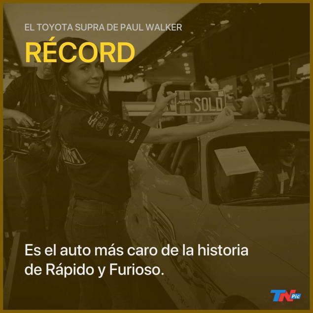 Toyota Suprası, 550.000 dolara açık artırmayla satıldı.