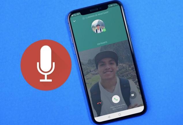 4. WhatsApp aramalarını kaydedin