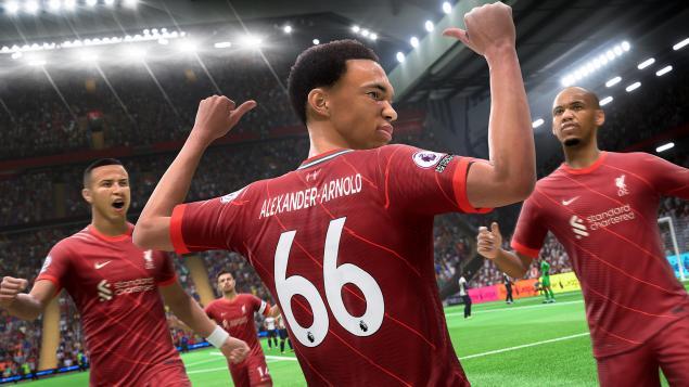 FIFA 22 oyun içi görseller