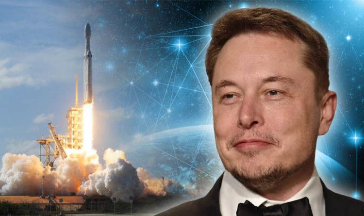 SpaceX'ten Nefes Kesen Starlink Uydu Treni Manzarası - Yeni Bir UFO Dalgası