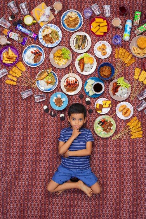 İşte Dünyada Her Gün Çocuklar Ne Yiyor? Ülkelere Göre Yeme Şekilleri