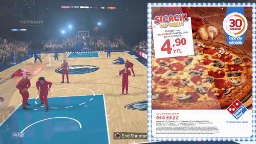 NBA 2K19 O kadar Gerçekçi ki, Artık Oyun İçi Reklamlar Gösterecek