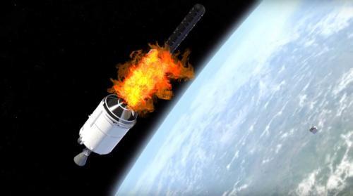 SpaceX Starlink Projesinde Beş Uydu Atmosferde Yanacak