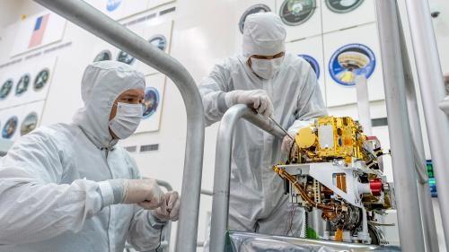 Mars 2020 SuperCam Cihazı Başarıyla Kuruldu