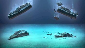 Titanik'in Enkazı Yapılan Araştırmalar Sonucunda Yok Olmaya Başladı