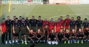 Türkiye A Milli Futbol Takımı EURO 2020 Hazırlıklarını Sürdürüyor